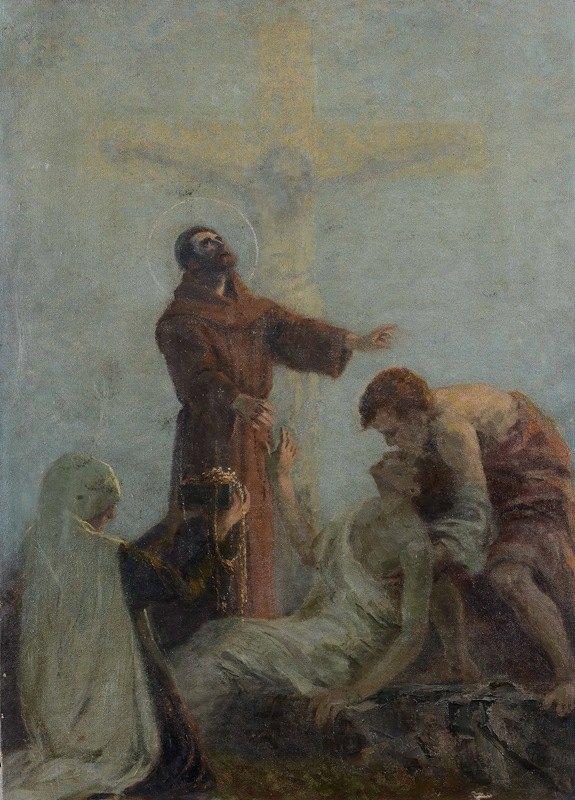 Gaetano Previati - Faith, Hope and Charity