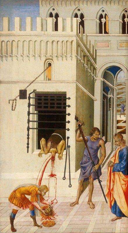 Giovanni di Paolo - The Beheading of Saint John the Baptist