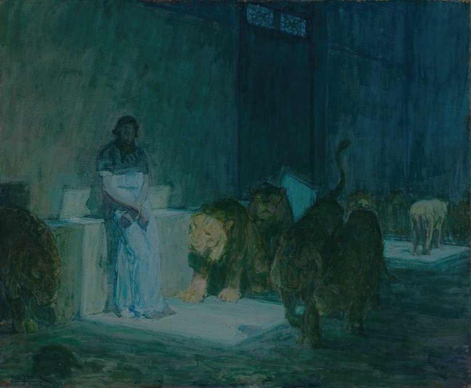 Henry Ossawa Tanner - Daniel in the Lions' Den