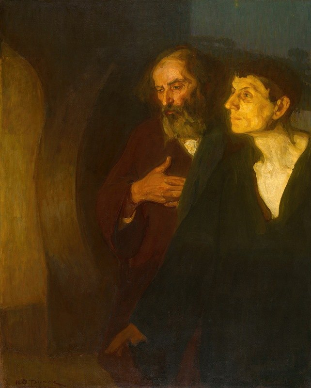 Henry Ossawa Tanner - The Two Disciples at the Tomb