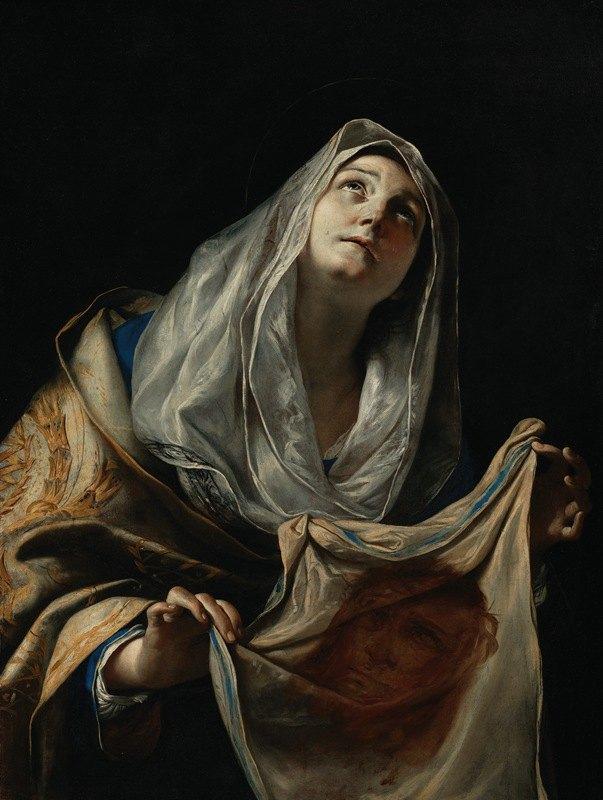 Mattia Preti - Saint Veronica with the Veil
