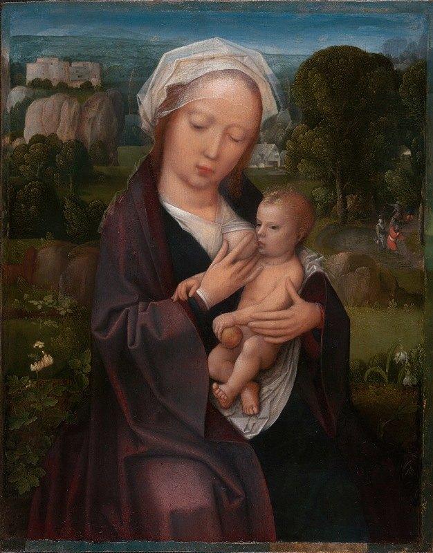 Workshop of Adriaen Isenbrant - Virgin and Child