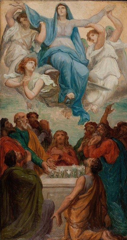 Émile Bin - L'Assomption de la Vierge
