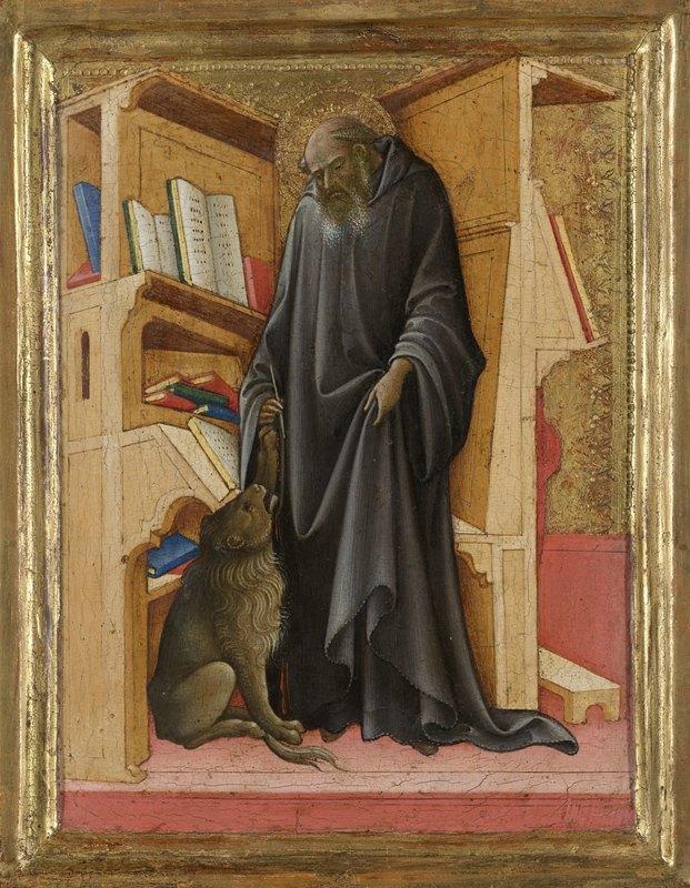 Lorenzo Monaco - Saint Jerome in his Study