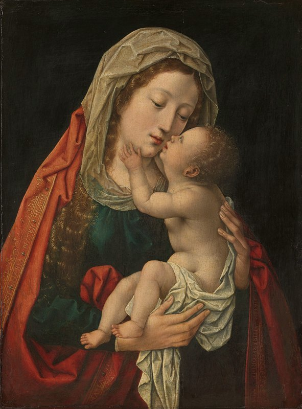 Workshop of Bernard van Orley - The Virgin and Child