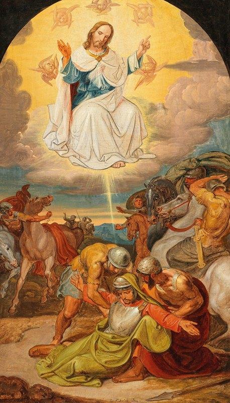 Joseph von Führich - The Conversion of Paul the Apostle