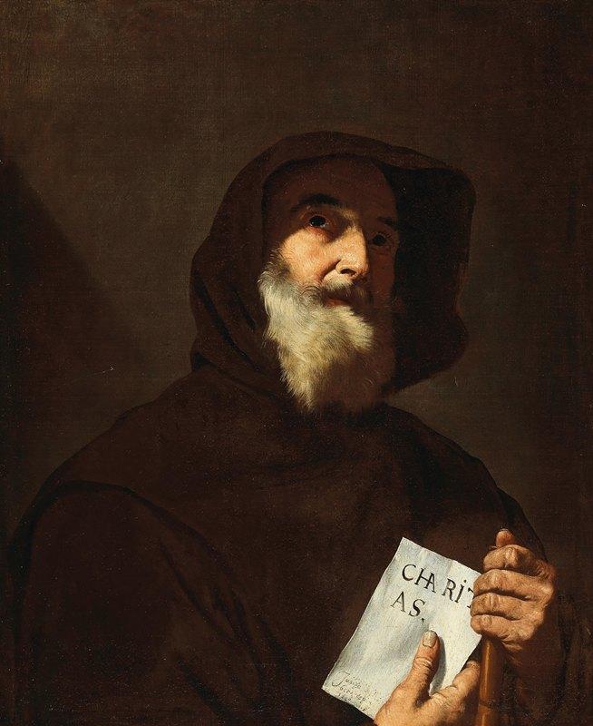 Jusepe de Ribera - Saint Francis of Paola
