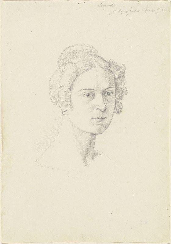 Joseph von Führich - Giuseppina Massimi, Principessa Lancellotti di Lauro