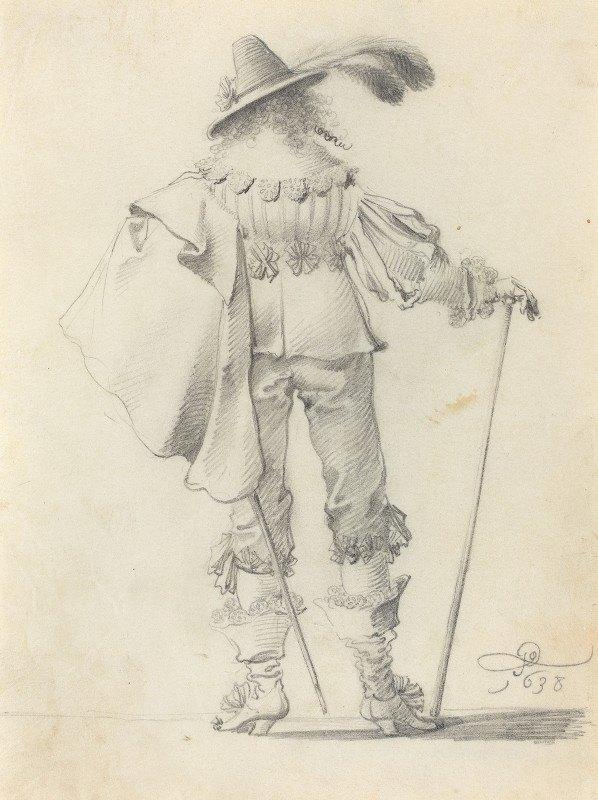 Pieter Jansz. Quast - Gentleman Seen from Behind