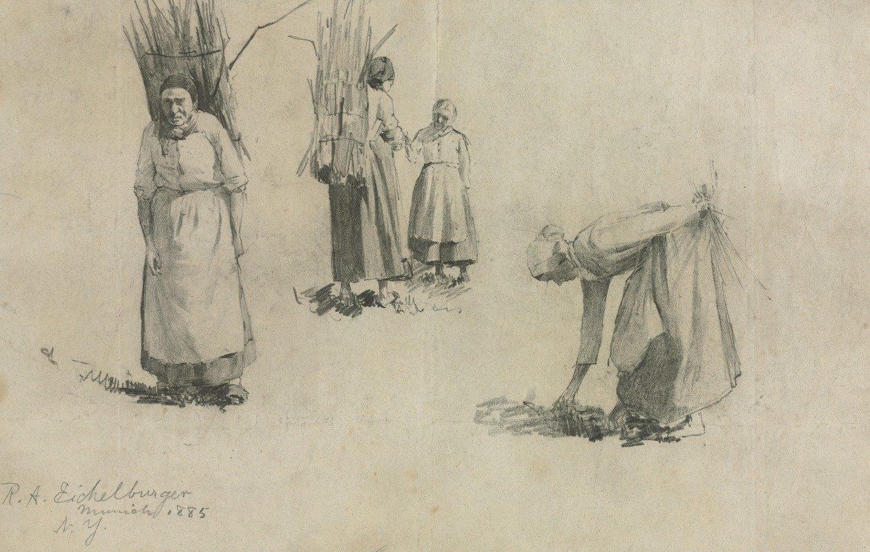 Robert A. Eichelberger - Bavarian Peasants