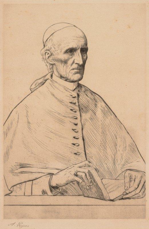 Alphonse Legros - Cardinal Manning
