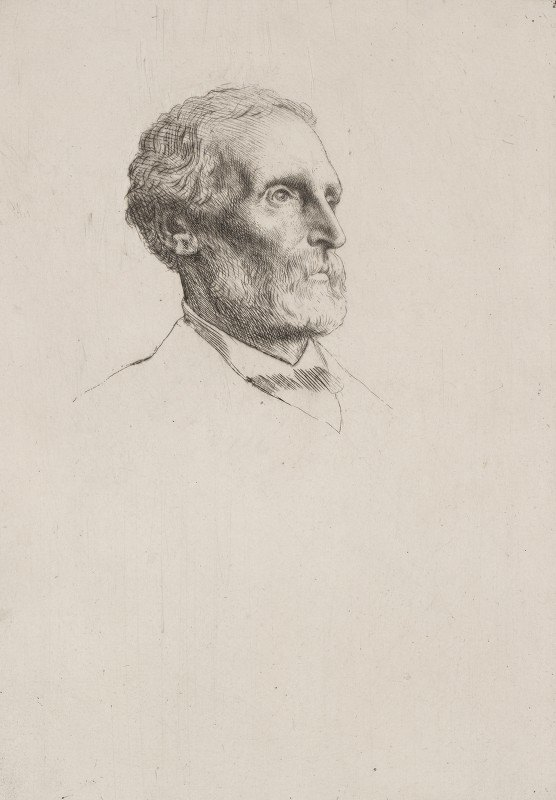 Alphonse Legros - Sir Frederick W. Burton