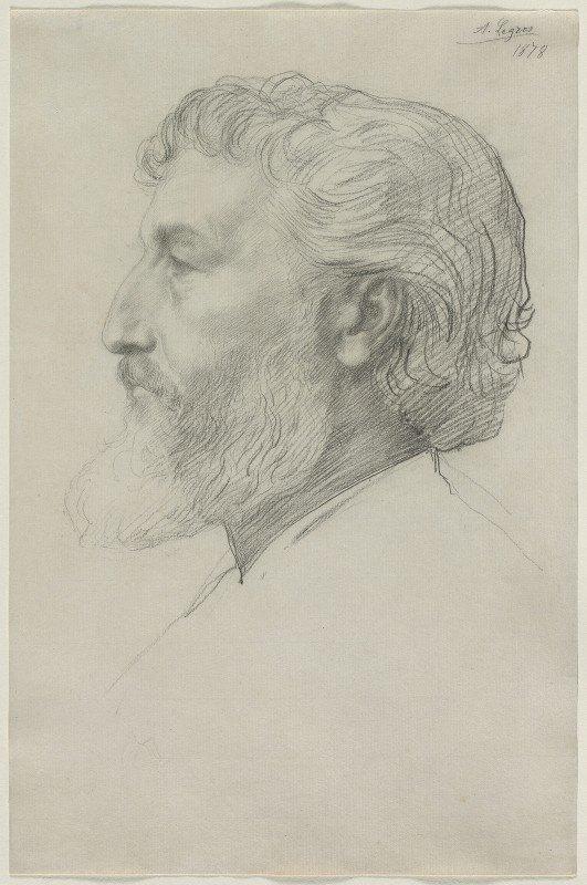 Alphonse Legros - Sir Frederick Leighton