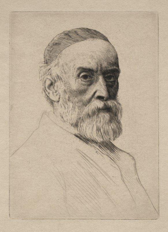 Alphonse Legros - George Frederick Watts