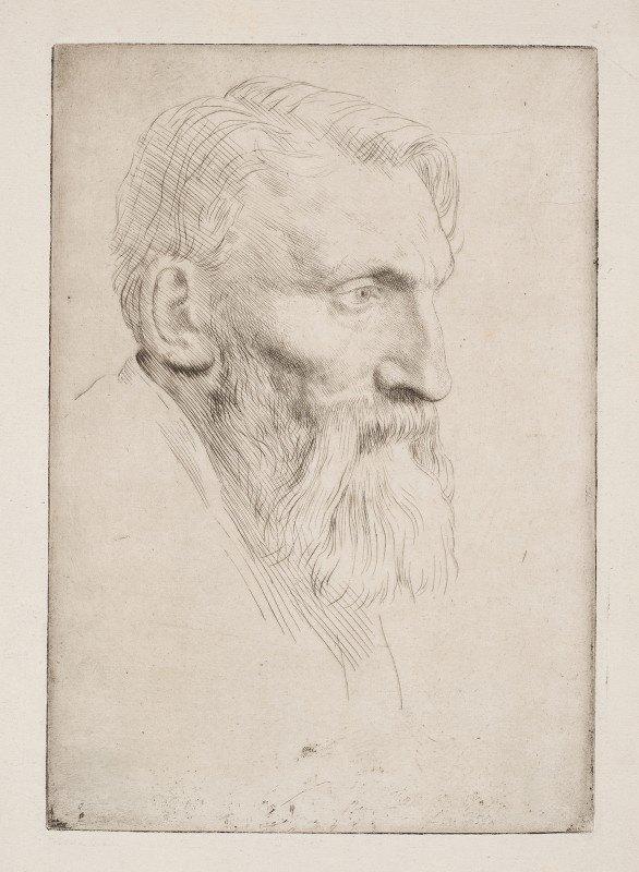 Alphonse Legros - Auguste Rodin