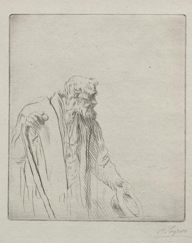 Alphonse Legros - A Beggar
