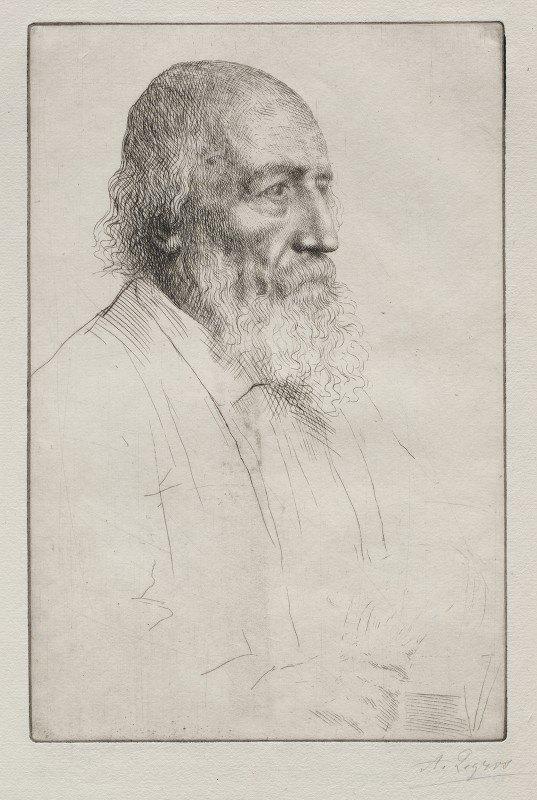 Alphonse Legros - Alfred Lord Tennyson