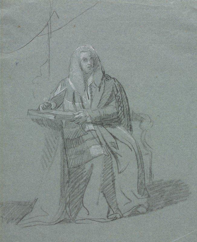 John Singleton Copley - Portrait of William Murray, Earl of Mansfield (1705-1793)