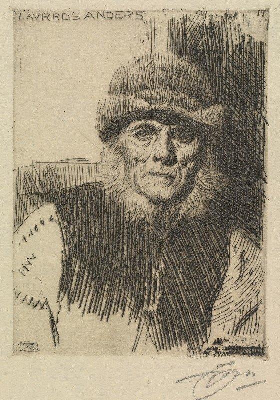 Anders Zorn - Dalecarlian Peasant