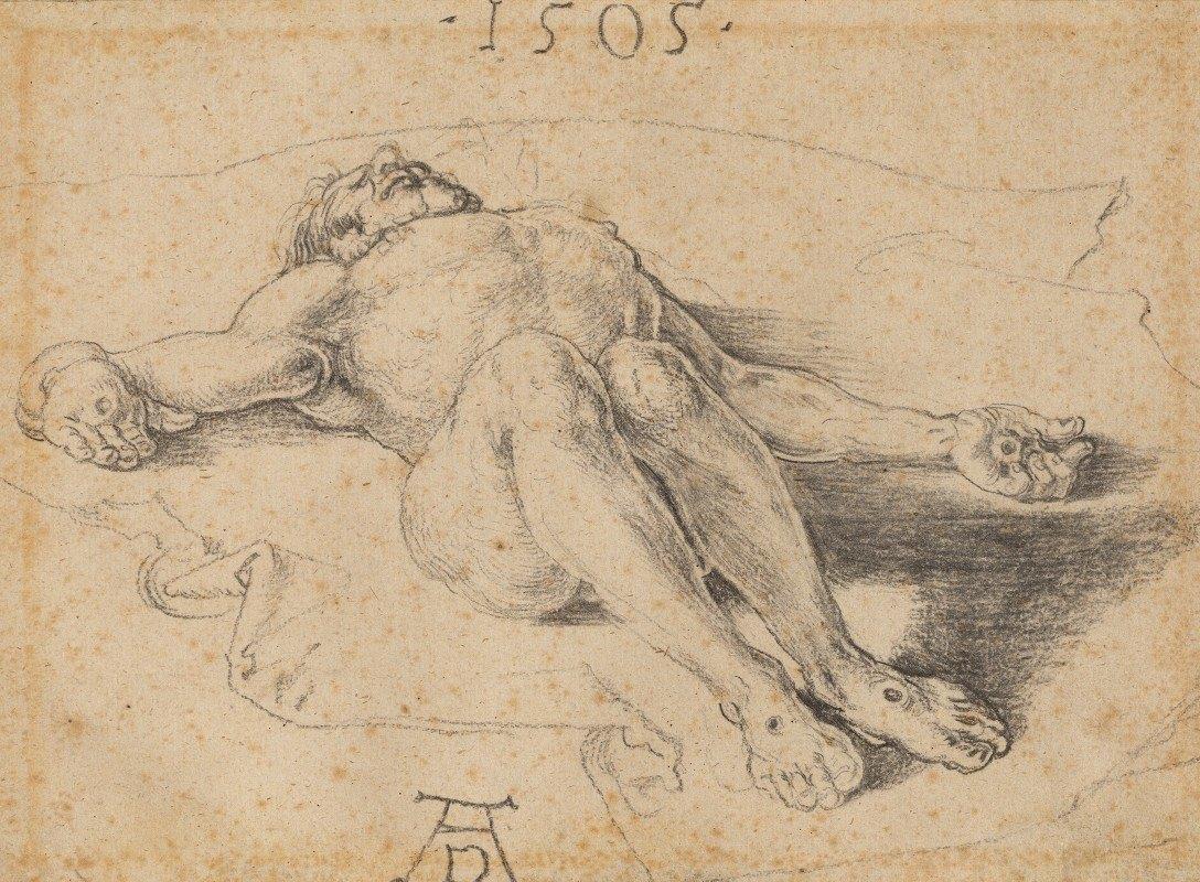 Albrecht Dürer - The Dead Christ