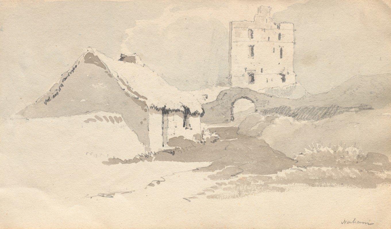 Samuel Prout - Sketchbook: Norham