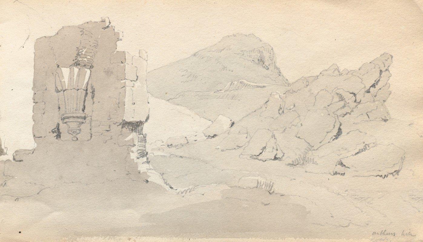 """Samuel Prout - Sketchbook: """"Ruin"""""""