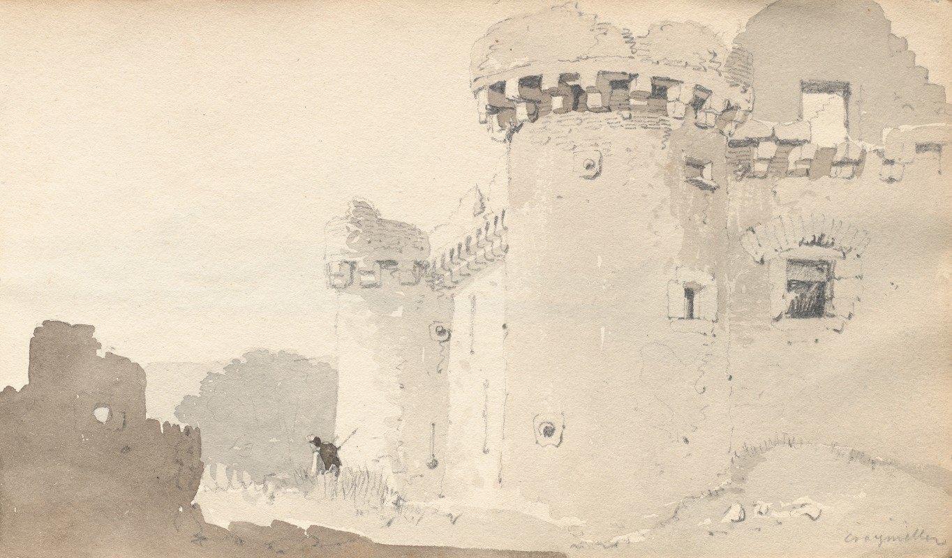 "Samuel Prout - Sketchbook: ""Ruined Castle"""