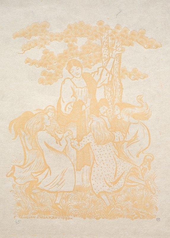 Lucien Pissarro - Illustration 25:  La Ronde