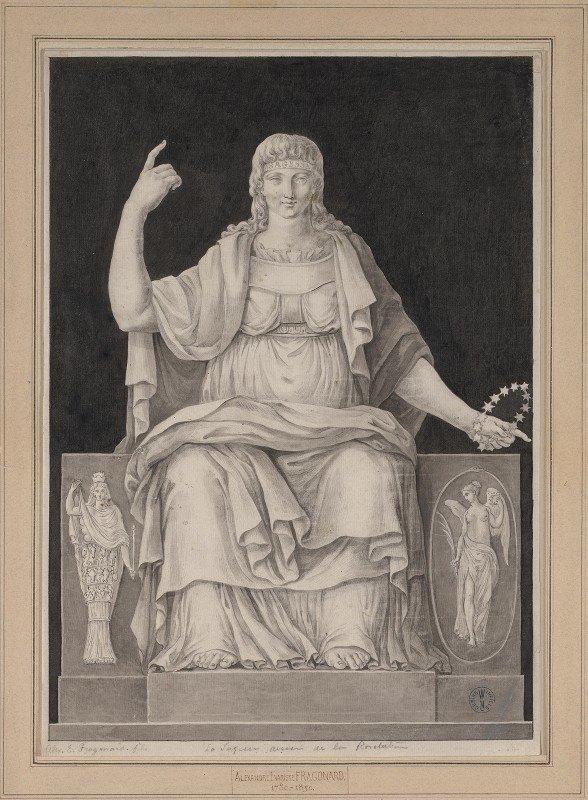 Alexandre Evariste Fragonard - La Sagesse