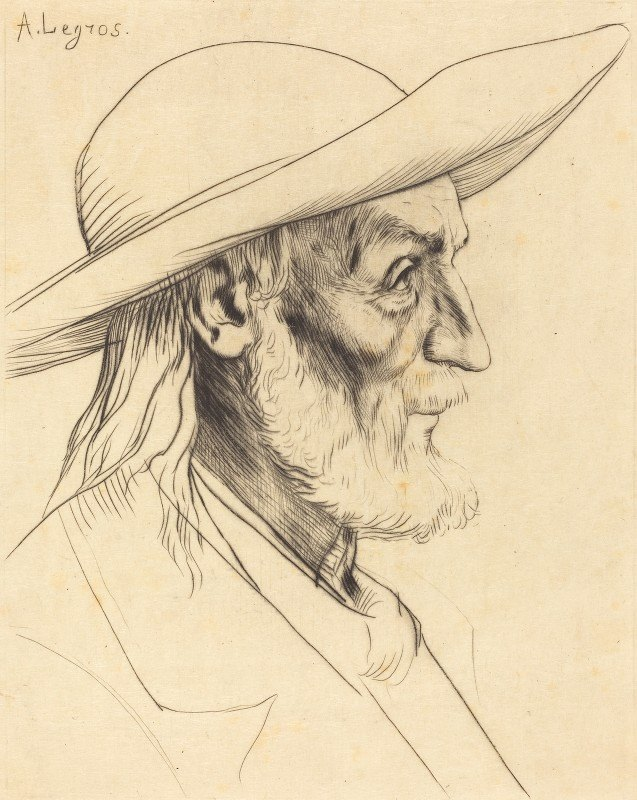 Alphonse Legros - Breton Peasant (Paysan breton) II