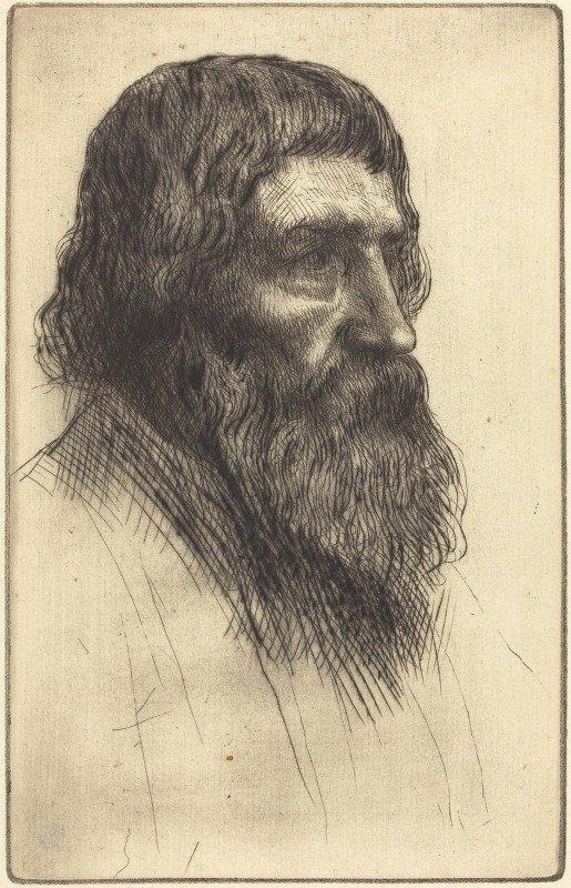 Alphonse Legros - English Peasant (Paysan anglais)