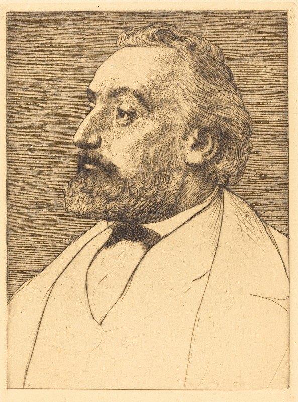 Alphonse Legros - Leon Gambetta, 2nd plate