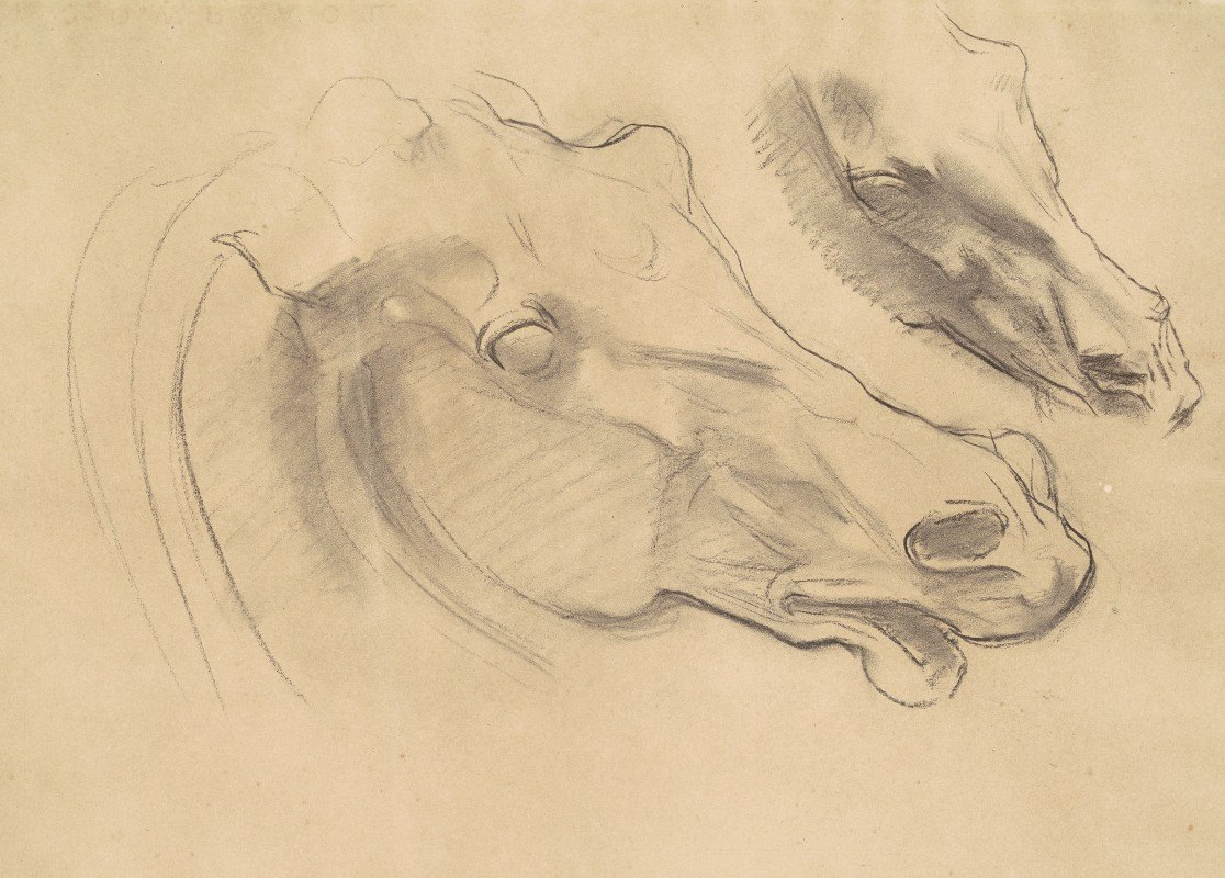 John Singer Sargent - Studies for 'Apollo in His Chariot with the Hours'