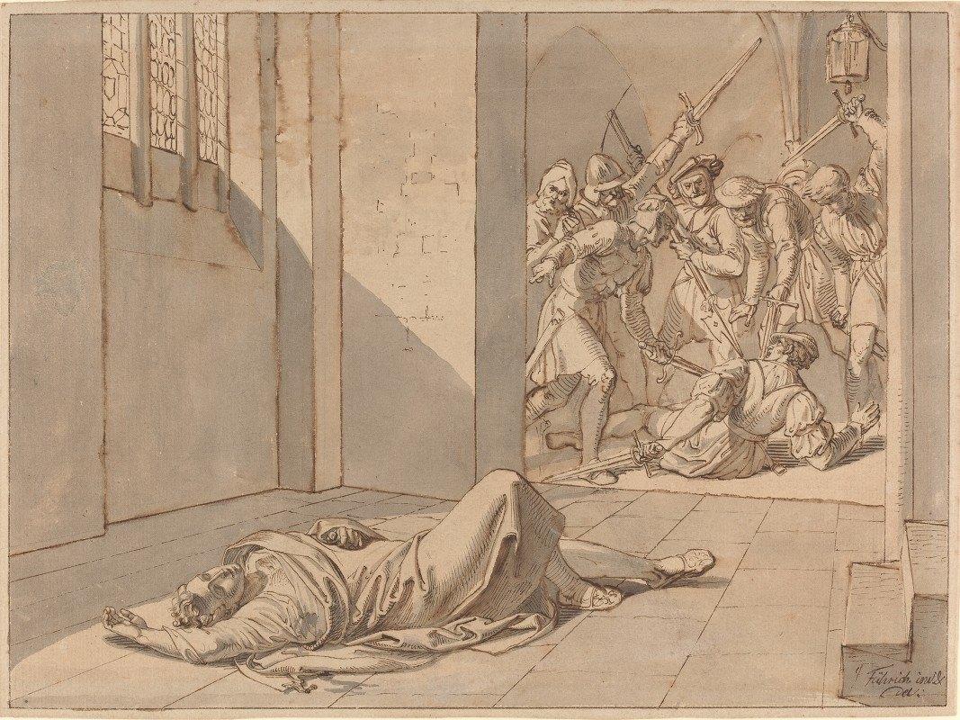 Joseph von Führich - The Assassination of King Wenzel III
