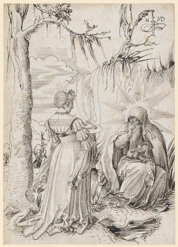 Niklaus Manuel - Die Versuchung des hl. Antonius