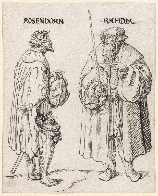 Niklaus Manuel - Rosendorn und Richter