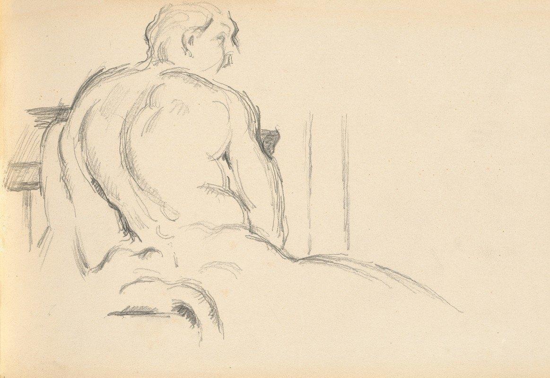 Paul Cézanne - Study of Puget's 'Hercules Resting'