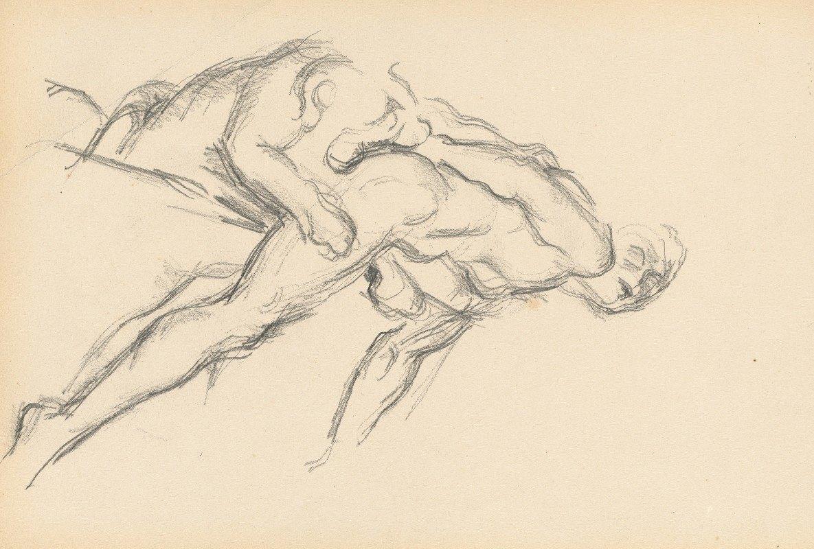 Paul Cézanne - Study of Puget's 'Milo of Crotona'