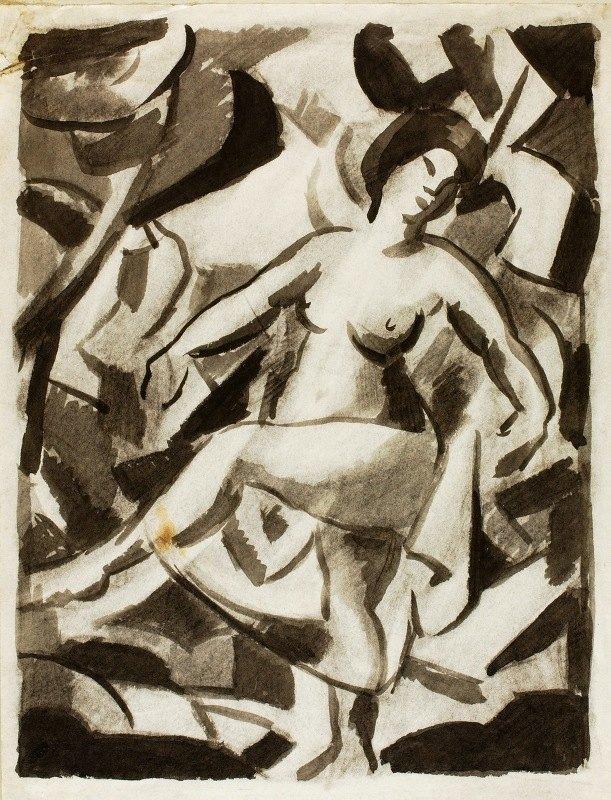 Carl Newman - Female Nude I