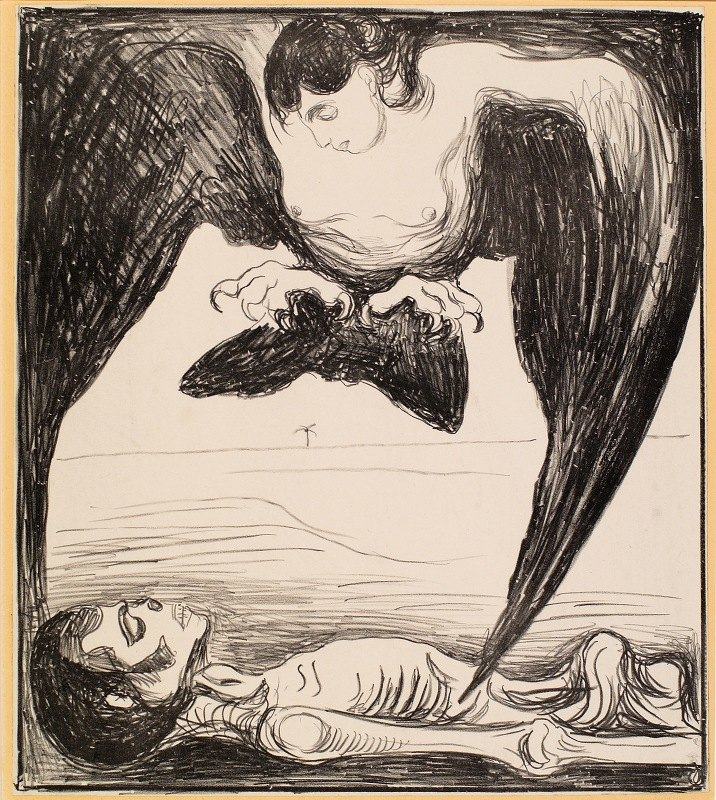Edvard Munch - Harpy
