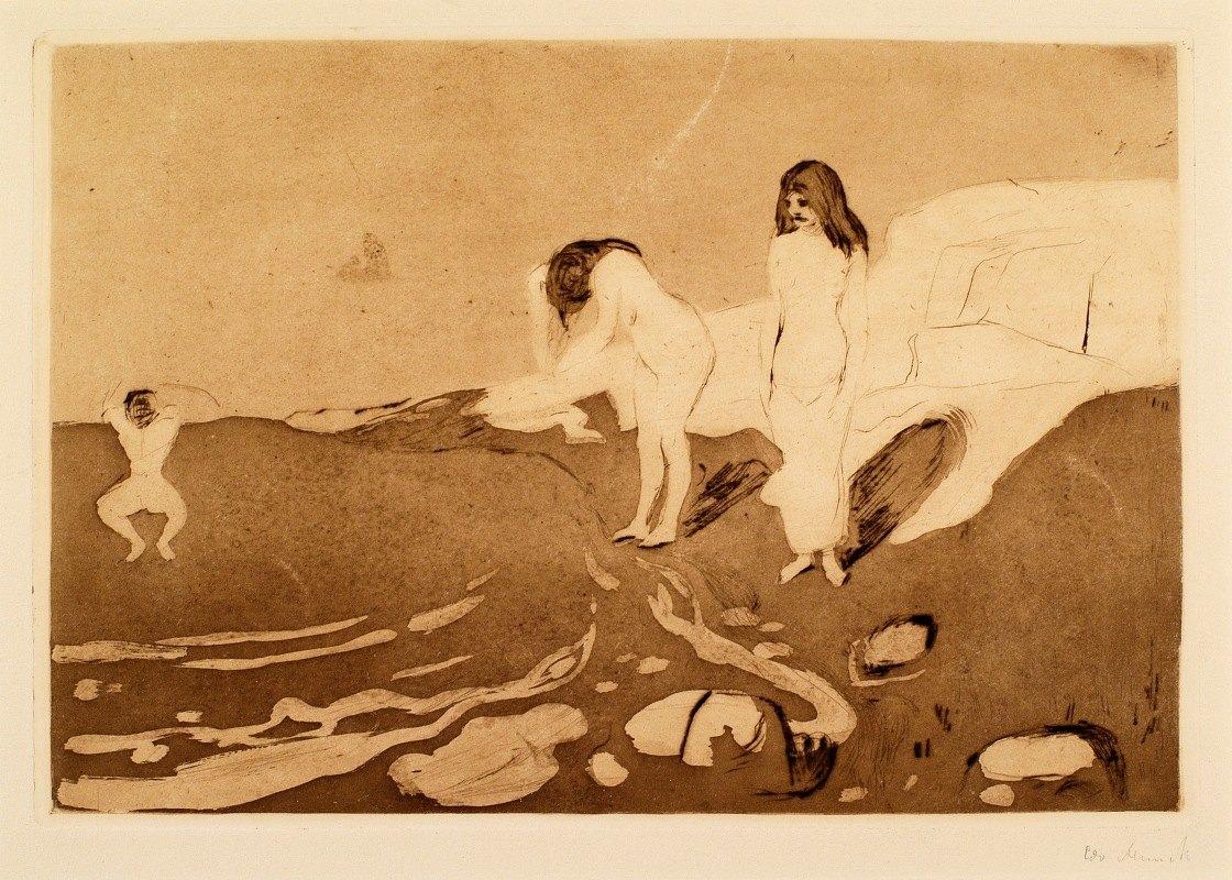 Edvard Munch - Women Bathing