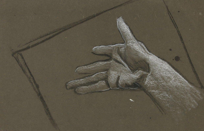 Edwin Austin Abbey - Sketch of ahand