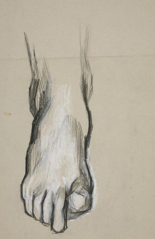 Edwin Austin Abbey - Sketch of afoot II