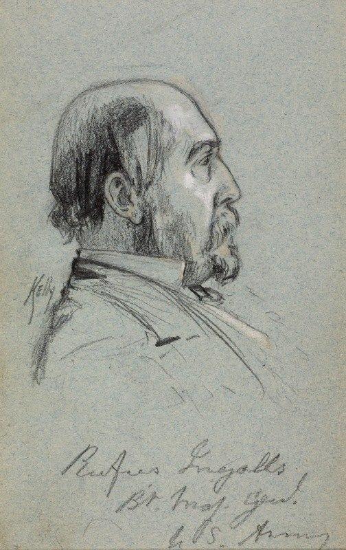 James Edward Kelly - Major General Rufus Ingalls