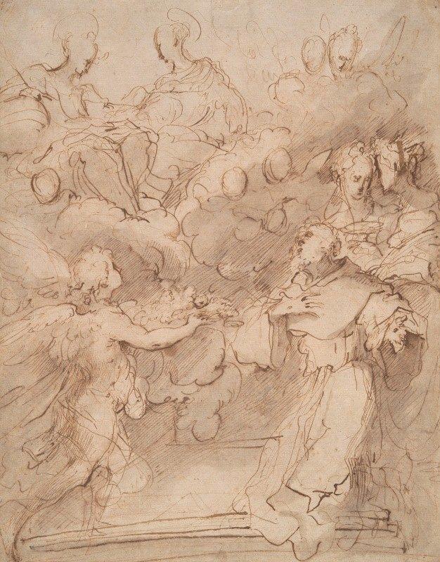Valerio Castello - The Perdono of St.Francis