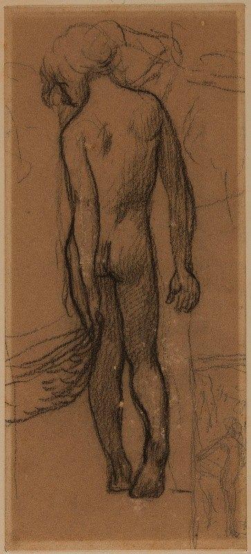 Pierre Puvis de Chavannes - Enfant nu de dos