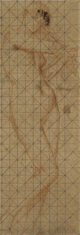Pierre Puvis de Chavannes - Femme nue, debout de face