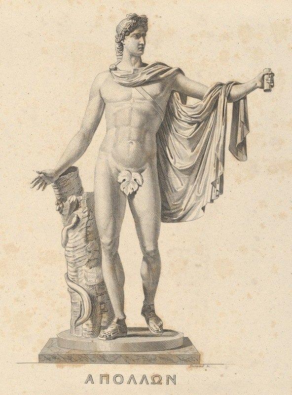 Asher Brown Durand - Apollo Belvedere
