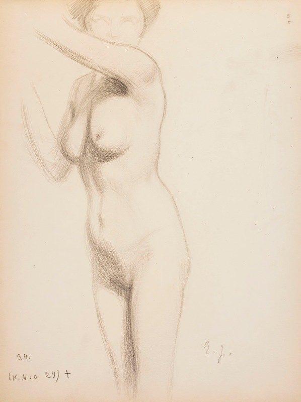 Eero Järnefelt - Nude model