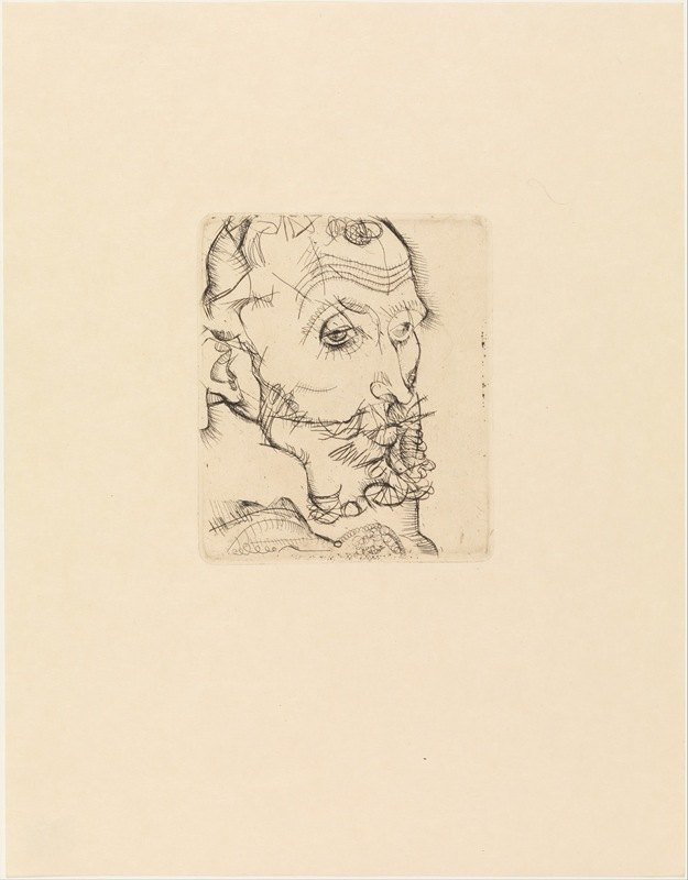 Egon Schiele - Portrait of Franz Hauer